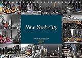 New York City - Color Glam Edition (Tischkalender 2019 DIN A5 quer): Glamouröser Fotokunst-Kalender der atemberaubendsten Stadt der Welt (Monatskalender, 14 Seiten ) (CALVENDO Orte)