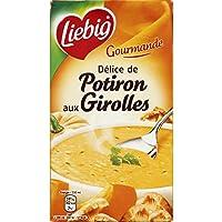 Liebig - Soupe délice de potiron aux girolles sans colorant - La brick de 1l - Precio por unidad