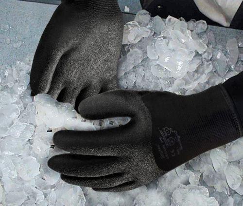Guantes de, guantes aislante, congelador guantes