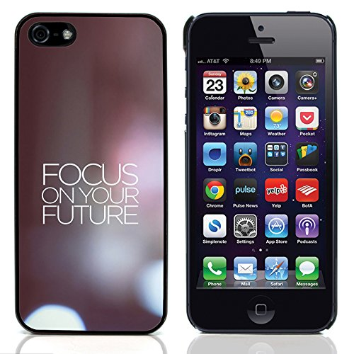 Graphic4You Stay Real Stay Loyal Englisch Zitat Nachricht Harte Hülle Case Tasche Schutzhülle für Apple iPhone 5 und 5S Design #4