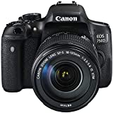 Canon EOS 750D/Rebel t6i/EOS Kiss X8i 18 – 135/3.5 – 5.6 EF-S is STM Digitalkameras 24.7 Mpix