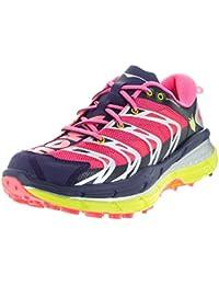 HOKA ONE ONE SPEEDGOAT NEON CORAIL Chaussures de trail femme