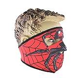 Sijueam Skelett Maske Spiderman Face Mask für Outdoor-Aktivitäten Radfahren Skifahren Fullface Winddicht Maske One Size