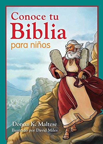 Conoce tu Biblia para niños/Know Your Bible for Kids