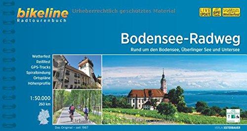 Bodensee - Radweg Bodensee - Ueberlinger See / Untersee 2018: Bodensee - Radweg Bodensee - Ueberlinger See / Untersee Cycling Guide (Bikeline Radtourenbücher)