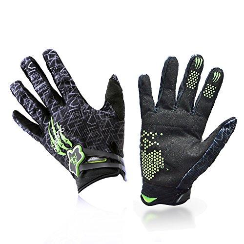 [Fahrradhandschuhe] Xiyalri Fahrrad Voll Finger warmen Radsporthandschuhe Motorrad Mountainbike Handschuhe für Herren und Damen (X Large) - 5