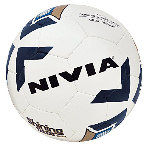 MSG Nivia Shining Star Football replica, Size 5 (White)  available at amazon for Rs.450