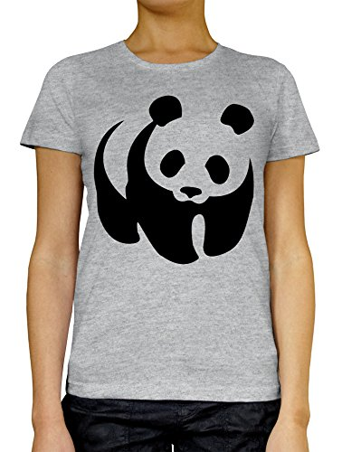 Big WWF Panda LukeTee Women's T-Shirt Medium (Notre-dame-tattoo)