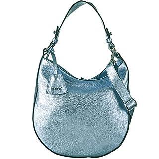 Abro Beuteltasche Shimmer Leder in light blue ab-27879-18-24