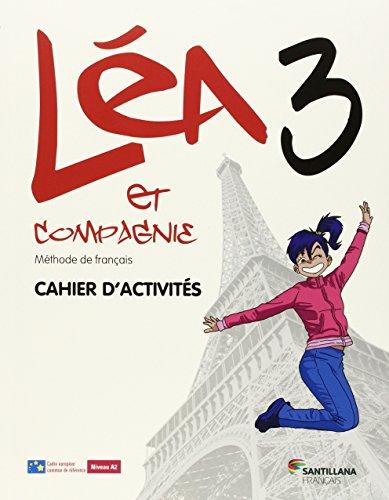 LEA ET CIE 3 CAHIER + CD CAHIER - 9788490491034 por Aa.Vv.