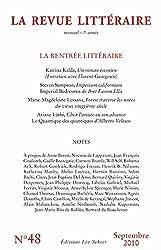 La Revue Littéraire n° 48