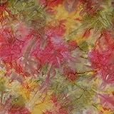 Fabric Freedom Pfirsich Mist Design 100% Baumwolle Bali