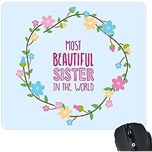 YaYa Cafe Most Beautiful Sister World Printed Mousepad