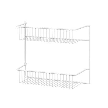 ClosetMaid 8002 2 Tier Wall Rack, 12 Inch Wide: Amazon.co.uk: Kitchen U0026 Home