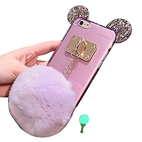 Tping Coque iPhone 6 / 6s, TPU Souple 3D Diamant