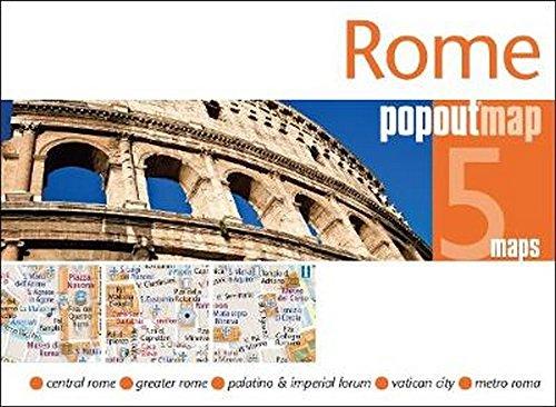 Rome PopOut Map (Popout Maps) (Italien-map Rom,)