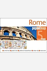 Rome PopOut Map (PopOut Maps) Map