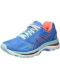 Asics Women's Gel-Nimbus 19 Running Shoes, Divablue/Flashcoral/Aquasplash