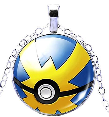Lovelegis Jungen Halskette - Falle - Pokè Kugel - Pokemon Go - Pokeball - Pikachu