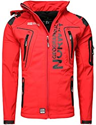 Geographical Norway Softshell Funktions Outdoor Veste Anthracite