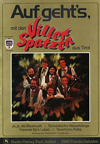AUF GEHT'S MIT DEN VILLER SPATZEN - arrangiert für Akkordeon [Noten / Sheetmusic] Komponist: VILLER SPATZEN - AKK