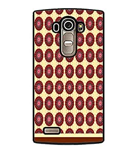 PrintDhaba Pattern D-1511 Back Case Cover for LG G4 (Multi-Coloured)