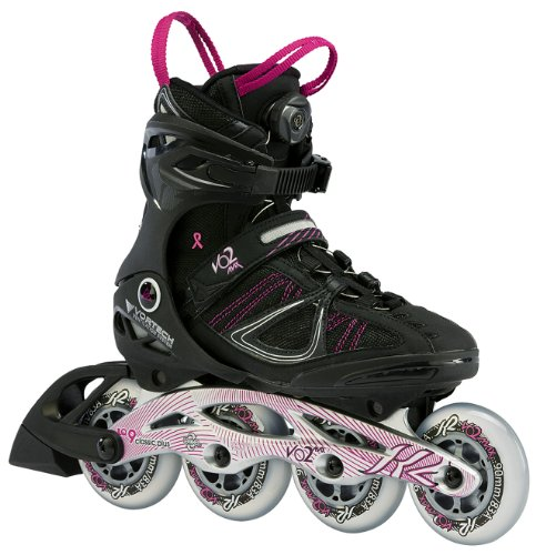 K2 Skates Damen VO2 MAX BOA W Inline Skates, schwarz, 42 EU