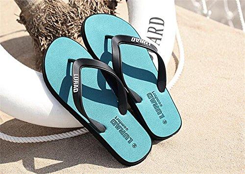 Sapatos Livre Personagens Borracha Os Tamanho Aluk Praia cor Ar Puxar De 40 derrapante Sandálias Verão Verde Homens Anti De Ao Lazer SHqtZW0w