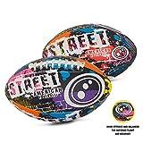OPTIMUM Uomo Street Football Americano, Multicolore, Mini