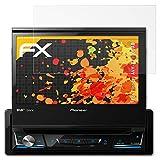 atFoliX Schutzfolie für Pioneer AVH-Z7100DAB Displayschutzfolie - 3 x FX-Antireflex blendfreie Folie