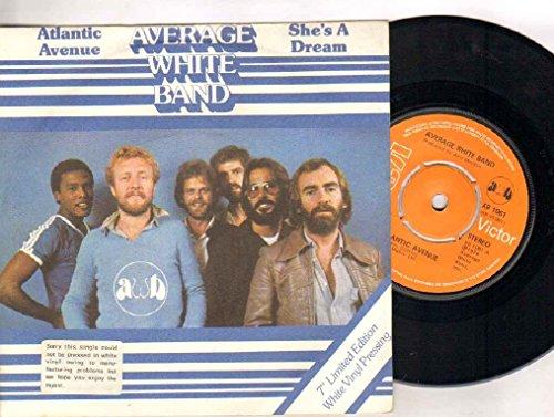 AVERAGE WHITE BAND - ATLANTIC AVENUE - 7 inch vinyl / 45