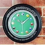 Reloj de Pared 3D Ocio Entretenimiento Decoración para el hogar mesa creativa Bola reloj de pared campana campana paredes reloj despertador