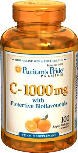 C 1000 mg with Citrus Bioflavonoids 100 Kapseln 1410
