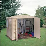 Oslo 8FT x 6FT DURAMAX PLASTIC PVC SHED WITH STEEL FRAME (2.39m x 1.60m)
