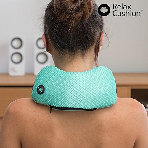 Relax Cushion - Il cuscino massaggiante per il tuo relax quotidiano! Idoneo per dolori cervicali, (Massaggio Del Collo Cuscino)