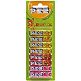 PEZ Bonbons Mango Mix 8 Packungen Bonbons mit Mango-, Himbeer- und Cola-Geschmack. Gluten- und laktosefrei