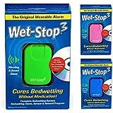 Wet-Stop3 Vert Enurésie Alarme avec Son et vibrations, Moniteur Pipi au lit d'alarme pour les garçons ou les filles pour l'énurésie nocturne