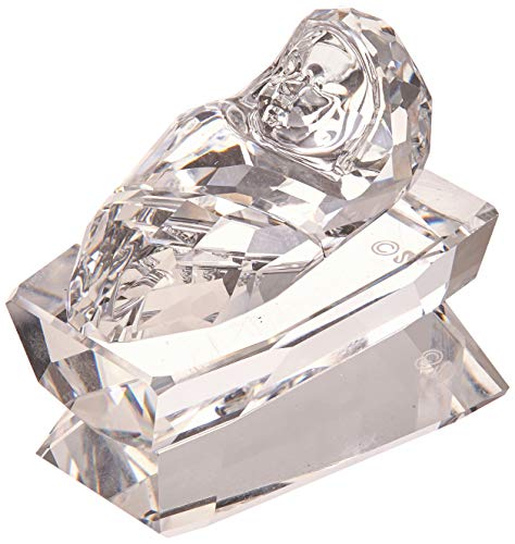 Swarovski natale presepe-gesù bambino, cristallo, trasparente, 2.8x 1.9x 3cm,