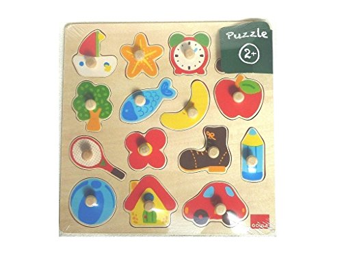 Goula Wooden Silhouette Puzzle (15 Pieces)