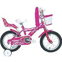 Umit J1451 Bicicleta Infantil, Niñas, Rosa, ...