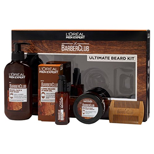 L'Oréal Men Expert Barber Club 3-in-1 Bart-, Haar- und Gesichtswasser