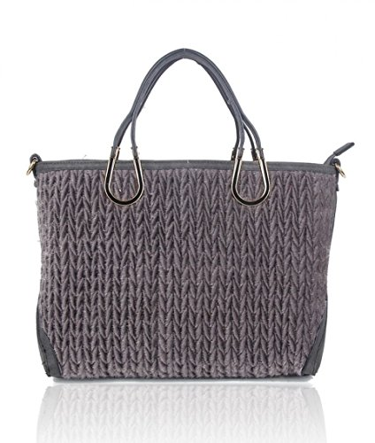 Craze London - Sacchetto Ragazza donna Unisex, neonati D Grey