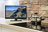 Reflexion LDD1671 39 cm (15,6 Zoll) LED-Fernseher mit DVD-Player, Triple-Tuner und 12 Volt Kfz-Adapter (HD Ready, HDMI, DVB-S / S2 / C / T2, USB, EPG, CI+, DVB-T Antenne) schwarz Vergleich