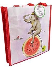 Santoro Fruity Scooty Elephant Mini Shopper Bag