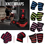 Xtrim Dura Fit Washable Elasticized Polyester Knee Wrap Sports Competition Grade with Hook