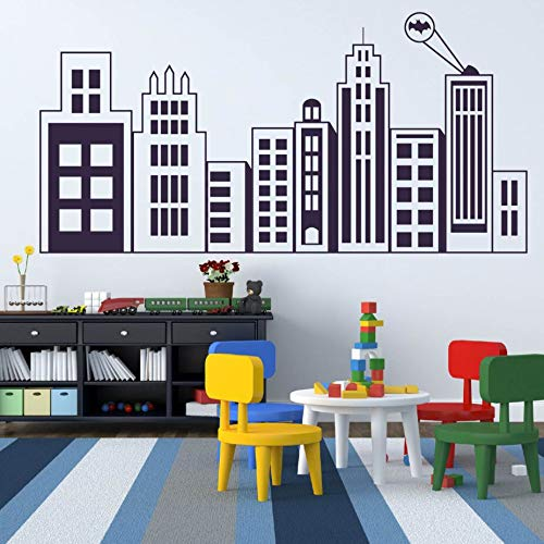zqyjhkou Kids Room Removable Wall Poster Wall Mural Nursery Decor Kids Room Vinyl Wall Sticker Pattern Art A74.1X36.4CM