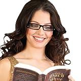 PEARL Brillen-Lesehilfe: Modische Lesehilfe, 3.0 dpt, mit LED-Leselicht (Lese-Fertigbrillen)