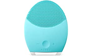 FOREO LUNA 2 Facial Brush and Anti-Aging Face Massager for Oily skin, Gently Removes Dead Skin Cells and Unclogs Pores