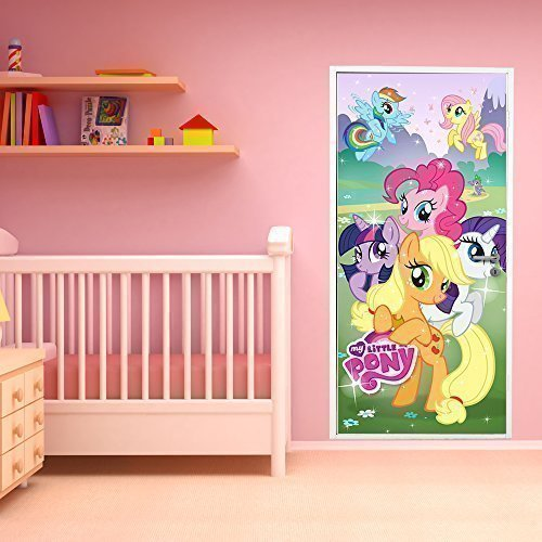 walplus-200x86-cm-wall-stickers-hasbro-my-little-pony-door-removable-mural-art-decals-vinyl-home-dec