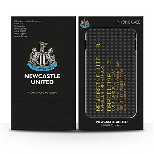 Offiziell Newcastle United FC Hülle / Matte Harten Stoßfest Case für Apple iPhone 5/5S / Pack 7pcs Muster / NUFC Berühmte Fußball Ergebnis Kollektion 1997